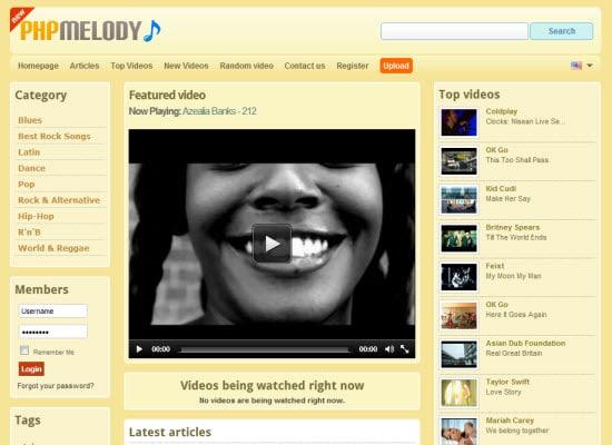 Video Sharing Scripts