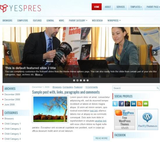magazine themes wordpress