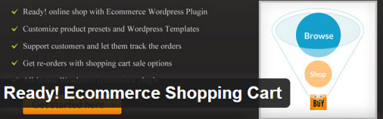 Shopping Cart Plugin for WordPress