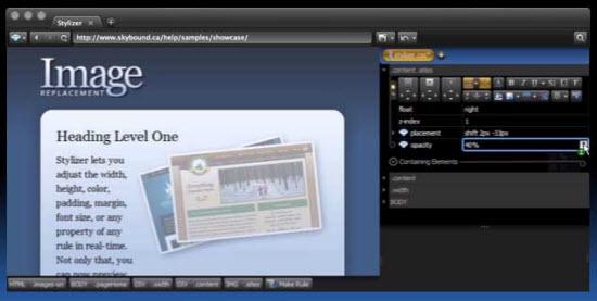 Stylizer Free CSS Editor