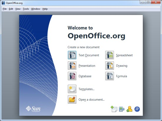 OpenOffice Portable Applications