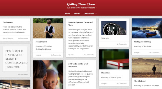 Photo Blog WordPress Themes