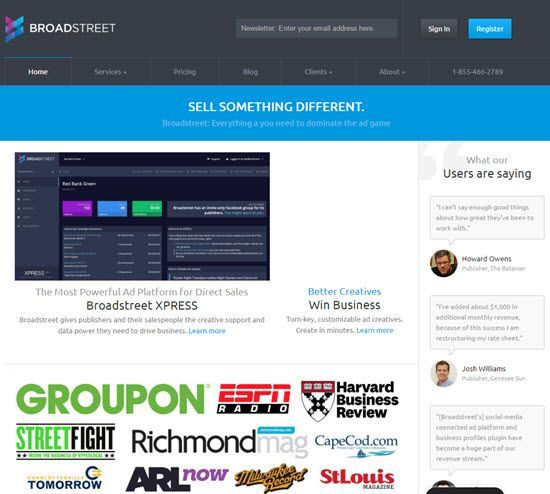 Broadstreet - Advertisement Management