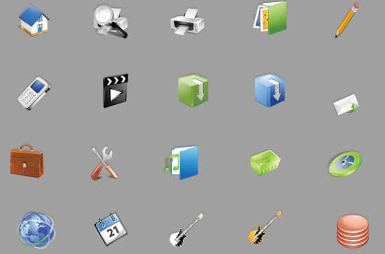 Web Icon Sets