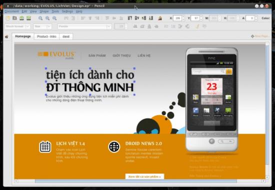 Pencil Firefox add-on