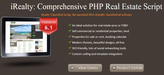 Real Estate Classifieds Scripts
