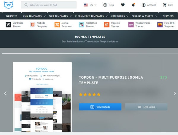 TemplateMonster Buy Premium Joomla Template