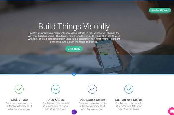 Divi - WordPress Theme Frameworks