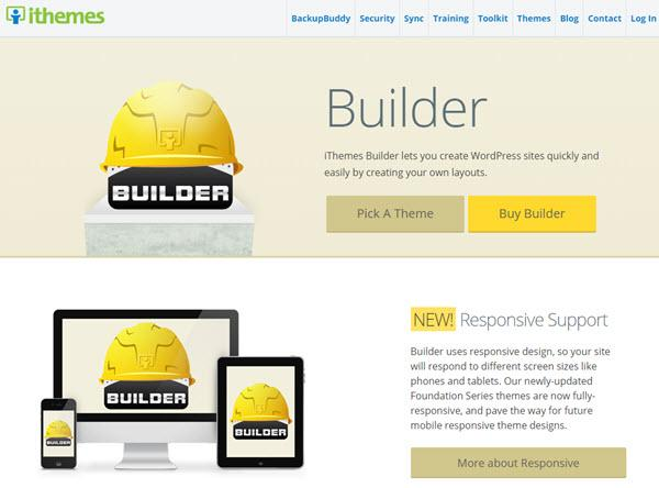 iThemes Builder - WordPress Theme Frameworks