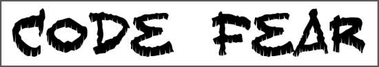 Free Horror Fonts