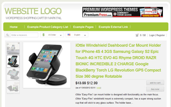 PremiumPress ShopperPress - PremiumPress Coupon