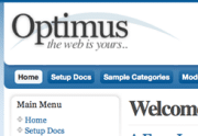 Free Joomla Template Optimus by JoomlaShack