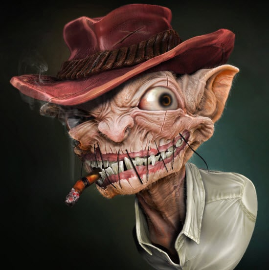 Digital Art Characters