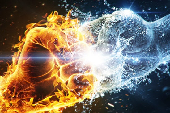 25 Amazing Example of Fire and Water Graphic water images water pictures inspiration images graphic fire water images fire water graphic design fire water combination fire water fire images fire and water combination fire and water fire