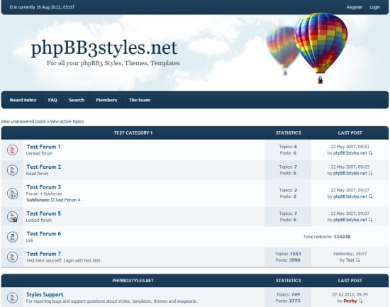 phpBB3 Styles