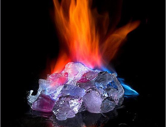 Burning Ice Graphics