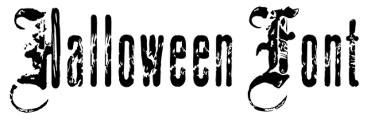 Halloween Horror Fonts