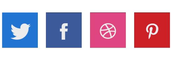 Social Bookmarking Icon Set