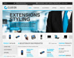 Clarion Magento Template