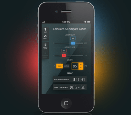 Mobile Apps User Interface Designs