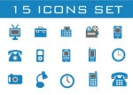 Exclusive 15 Free Icon Set