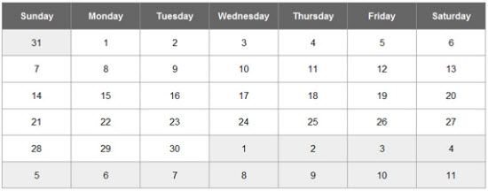 jQuery Date Picker Calendar Plugins
