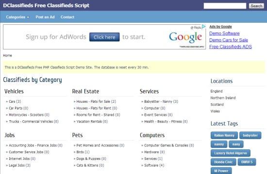Classified Scripts