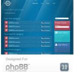 Metropolis phpBB Style from RocketTheme