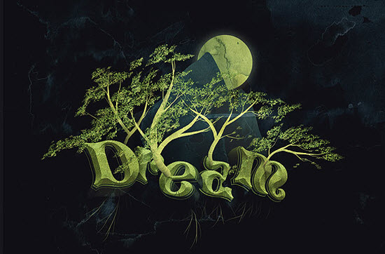 dream-text-photoshop