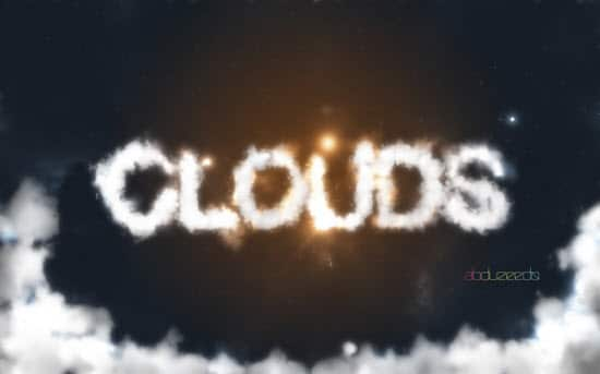 clouds-text-effect-photoshop
