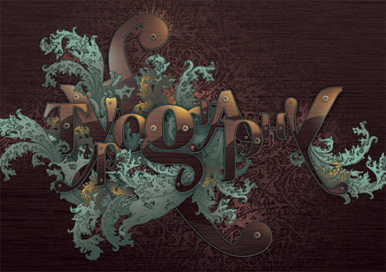 Ornate-Typographic-text-effect-photoshop