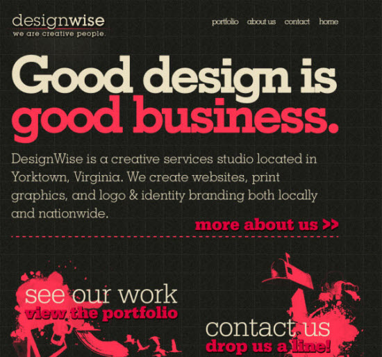 WordPress Built Websites