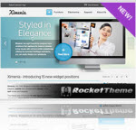 Corporate Style Magento Template Ximenia