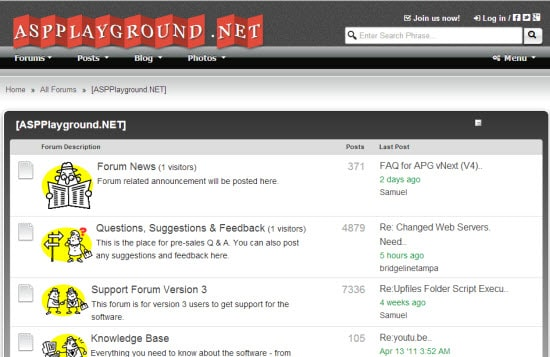 ASP Forum Software