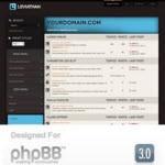 Beautiful phpBB3 Style Leviathan by RocketTheme