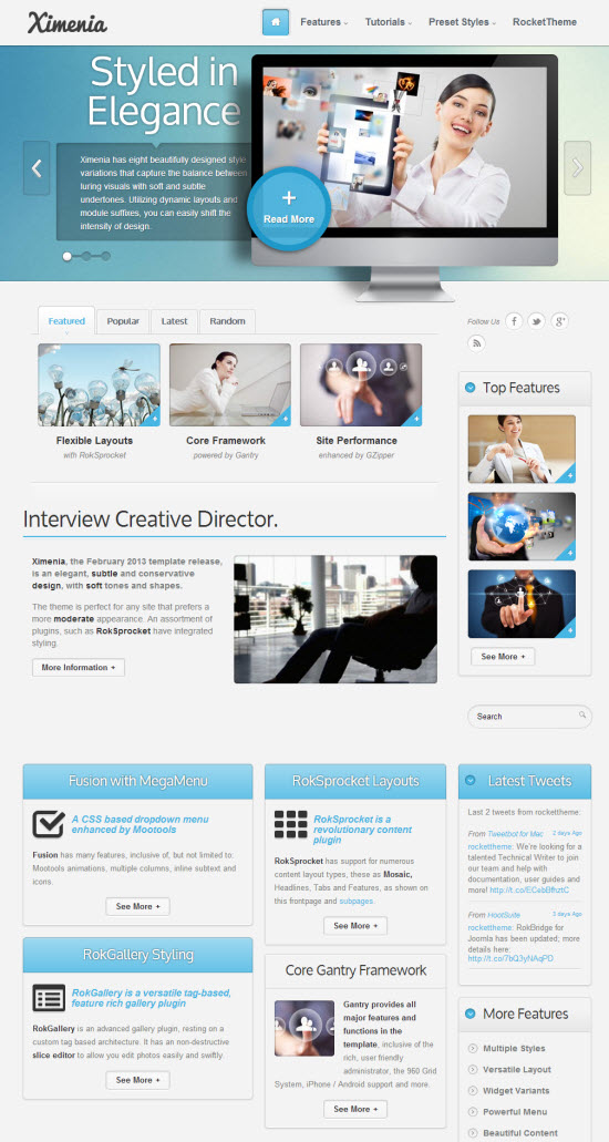 Ximenia WordPress Theme