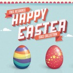 12 Free Easter Icons Set