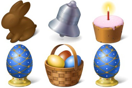 Free Easter Icons sets
