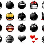 20 Free Emoticons Sets for your Website
