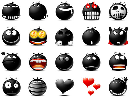 Emoticons Icons Sets