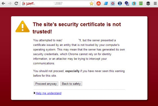 Installing Self Signed SSL Certificate with WHM/cPanel