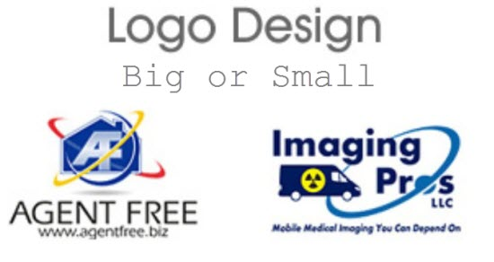 Size for logo design