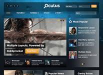 Oculus Joomla Template