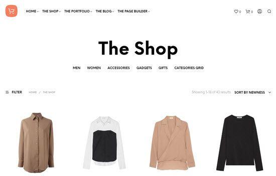 Shopkeeper WooCommerce Themes
