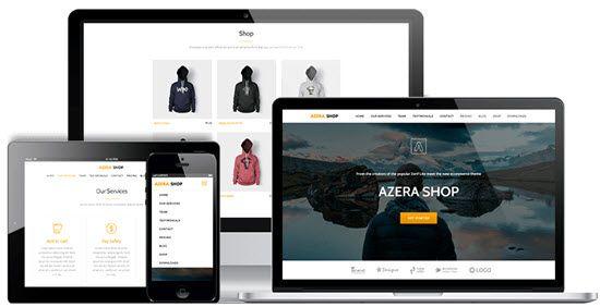 Azera Shop WordPress WooCommerce Themes