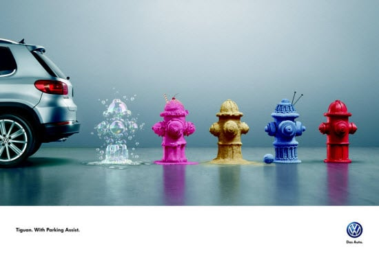 Automotive Print Advertisements