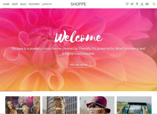 Shoppe WooCommerce Themes