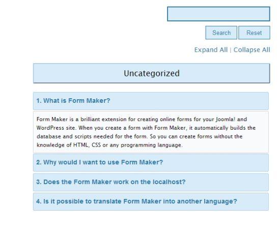 Spider FAQ WordPress FAQ Plugins