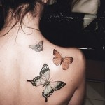 35 Beautiful Butterfly Tattoo Designs