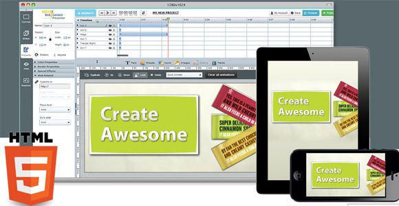 EWCPresenter - Online Infographics Tool